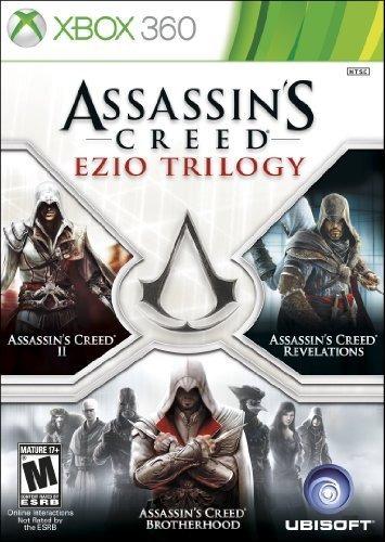 assassins creed ezio trilogy edition xbox 360