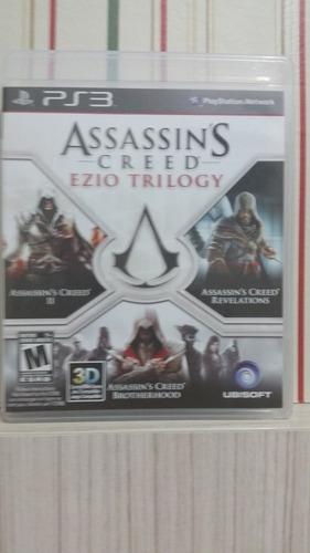 assassins creed ezio trilogy ps3
