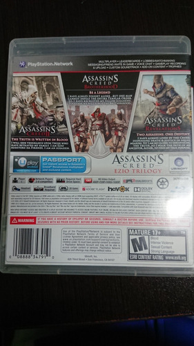 assassin's creed ezio trilogy ps3