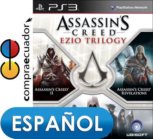 assassin´s creed ezio trilogy ps3 disco fisico sellados ps3