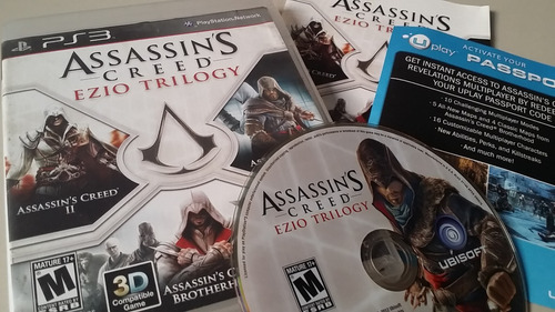 assassins creed ezio trilogy ps3 física original