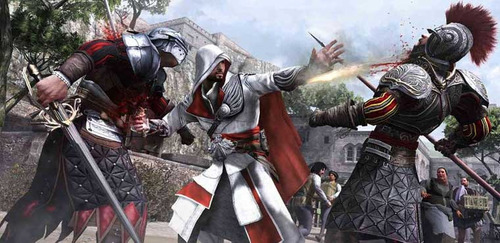 assassins creed ezio trilogy ps3 fisico original nuevo juego