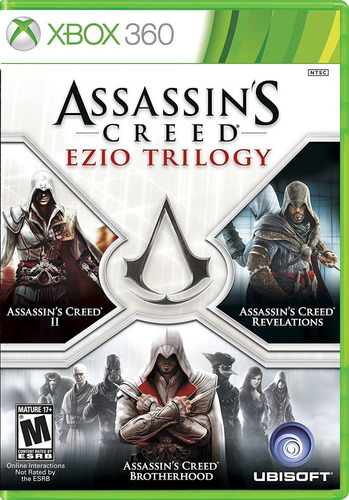 assassins creed ezio trilogy xbox 360 acepto cambios