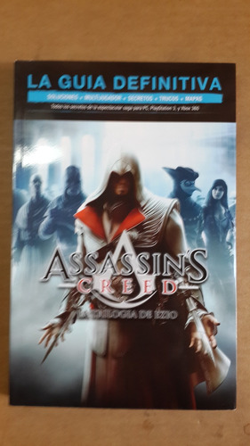 assassin´s creed, guía definitiva, 300 pag soluciones trucos