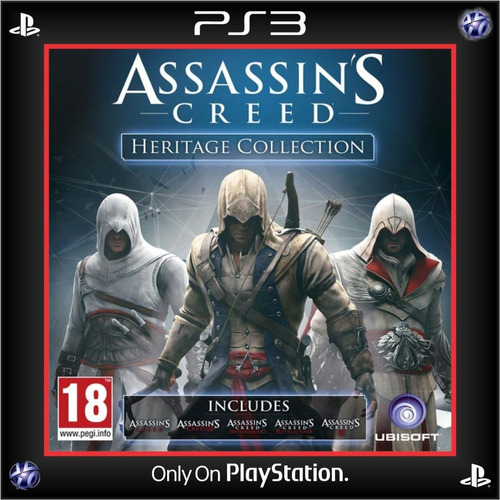 assassin's creed heritage collection ps3 digital español