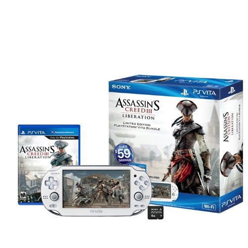 assassins creed iii liberación playstation vita wi-fi bundl