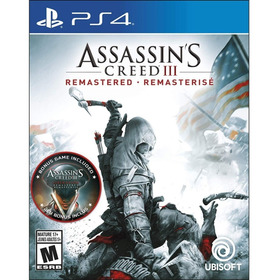 Assassin's Creed Iii Remastered Ps4 Midia Fisica