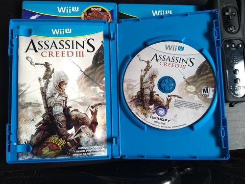assassin's creed iii wiiu