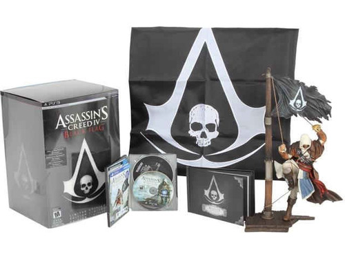 assassin's creed iv: black flag limited edition - ps3