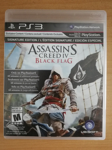 assassins creed iv black flag ps3 físico