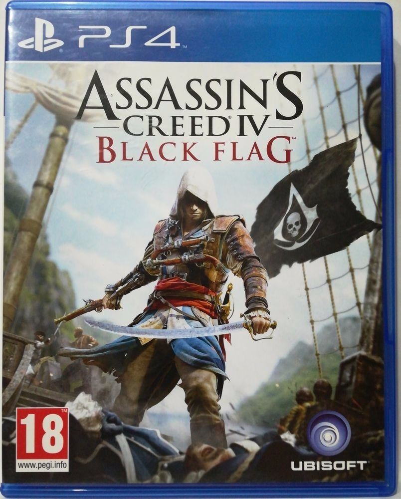 Assassins Creed Iv Black Flag Ps4 Fisico Sellado Cuotas Ade