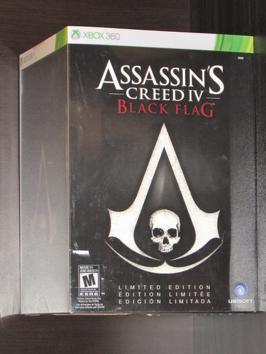 assassin´s creed iv black flag, xbox 360