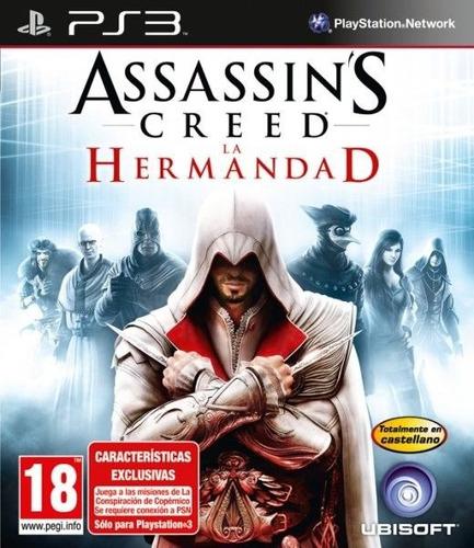 assassin's creed la hermandad ps3 original fisico
