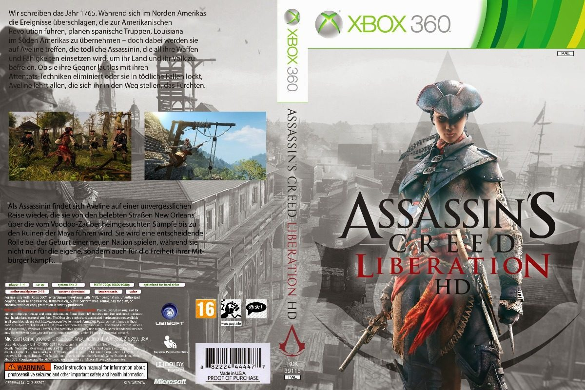 Assassins Creed Liberation Patch Rgh Xbox 360