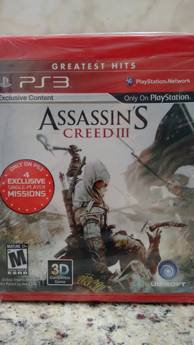 assassin's creed lll ps3