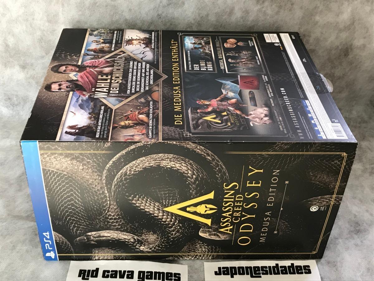 Assassins Creed Odyssey Medusa Edition Ps4 R 2 190 00 Em
