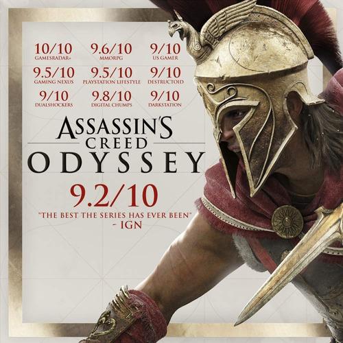 assassin's creed odyssey ps4 juego sellado playstation 4 pro