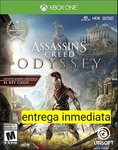 assassin´s creed odyssey xbox one offline