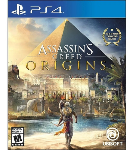 assassin's creed origins ps4 - juego fisico - prophone