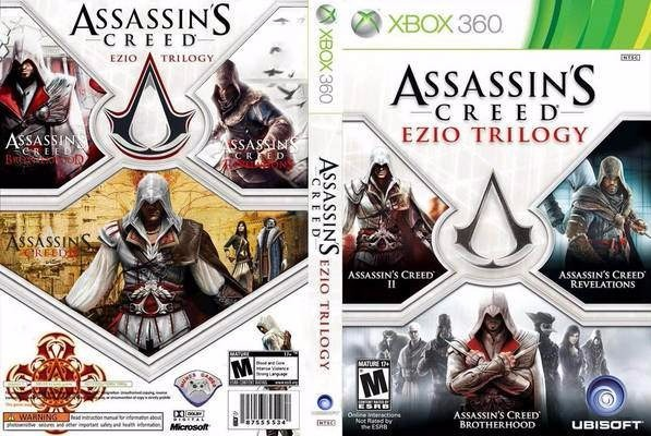 Assassins Creed Pack 3 Juegos Nuevos Xbox 360 900 00 En