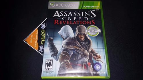 assassins creed revelation xbox 360