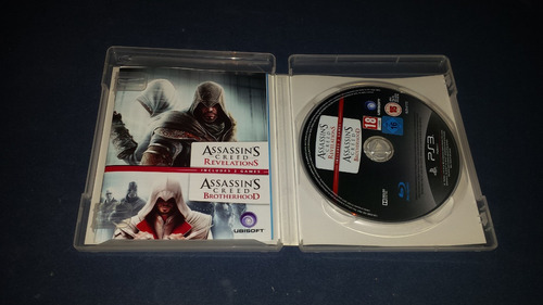 assassins creed revelations e brotherhood playstation 3 ps3