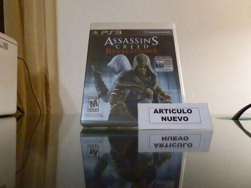 assassin's creed: revelations - fisico - playstation 3