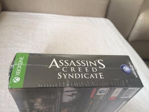 assassin's creed syndicate edição limitada c/camiseta-lacrad