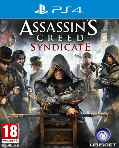 assassin's creed: syndicate ps4 - juego fisico - prophone