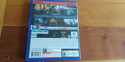 assassin's creed syndicate ps4 usado