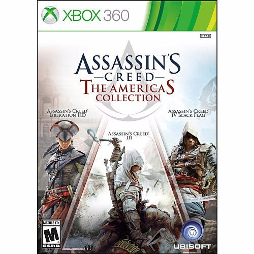 assassin's creed the americas collection xbox 360 nuevo