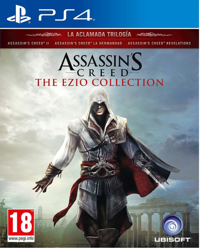 assassins creed the ezio collection ps4 juego playstation 4