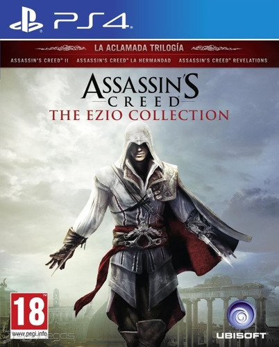 assassins creed: the ezio collection ps4 - prophone