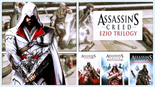 assassins creed the ezio trilogy xbox 360 nuevo