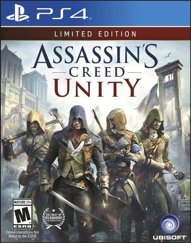 assassin's creed: unity-edición limitada (sony playstation