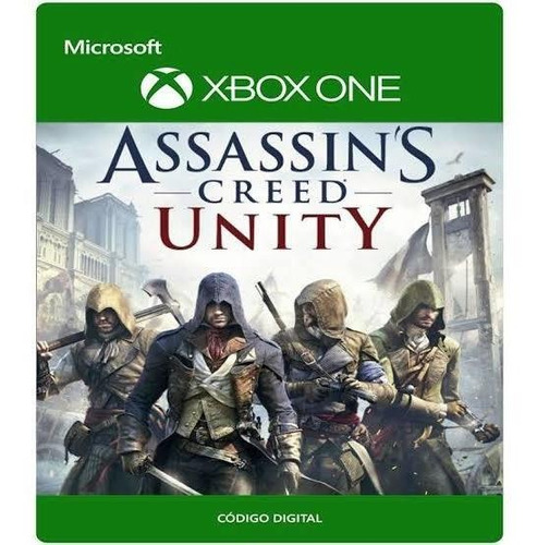 assassin's creed unity para xbox one código