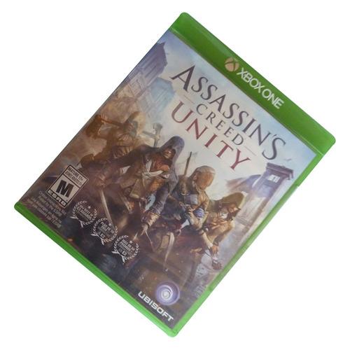 assassins creed unity para xbox one (nuevo y sellado)