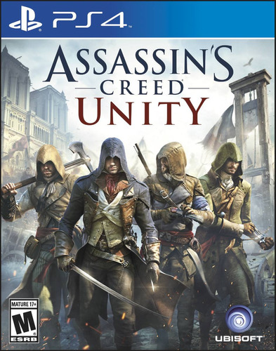 assassins creed unity ps4 formato fisico juego playstation 4