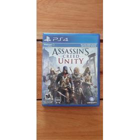 Assassins Creed Unity Ps4 Playstation 4 Fisico Usado