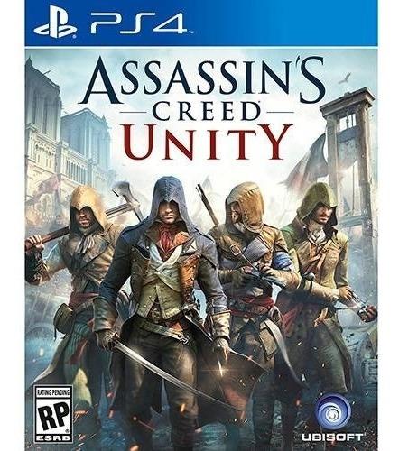 assassin's creed unity ps4 ( sellado ) envíos grátis rápido