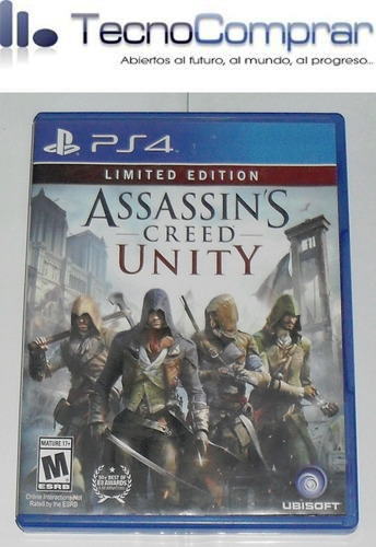 assassins creed unity ( ps4 - usado )