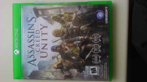 assassin's creed unity xbox one nuevo