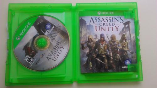 assassin's creed unity xbox one nuevo