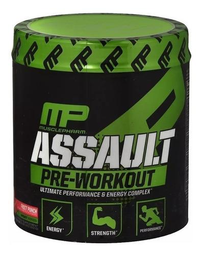 assault pre-treino mp musclepharm 30 doses fórmula americana