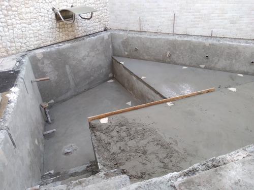 assentamento de qualidade de porcelanato,execuçao de piscina
