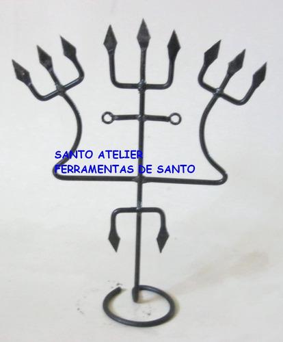 assentamento ferramenta de tranca ruas no candomblé  exu 051
