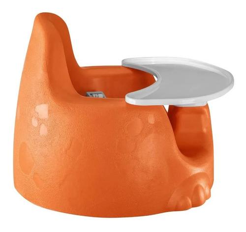 assento de chão para refeições sauro laranja tutti baby 6200