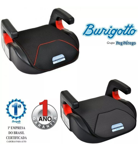 assento elevação infantil protege 15-36kg memphis burigotto