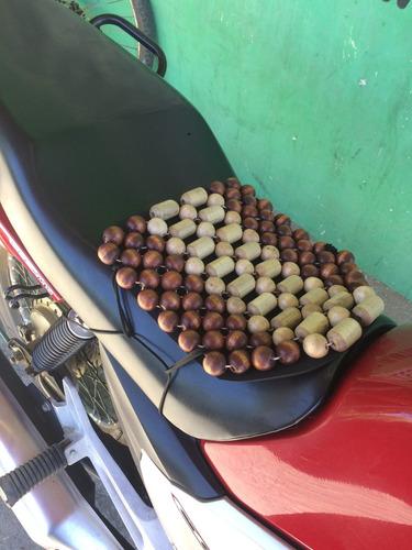 assento massageador bolinha madeira moto oferta natal