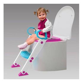 Assento Redutor Com Escada Azul E Rosa Buba + Envio Rápido